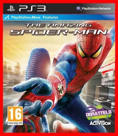 The Amazing SpiderMan 1 - Homem aranha 1 ps3