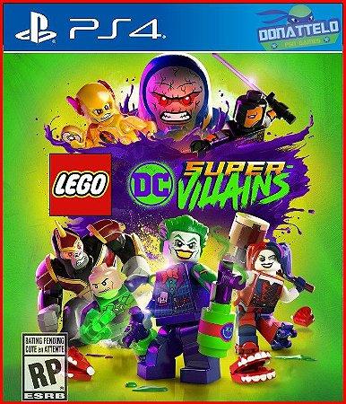 Lego DC Super Vilões PS4