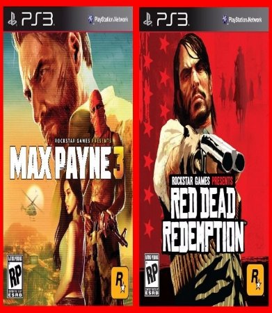 Combo Max Payne e Red Dead Redemption ps3