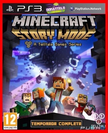 Minecraft Story Mode ps3 - Temporada completa com 5 episodios