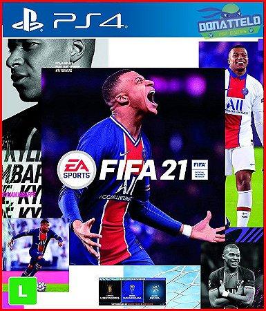 FIFA 21 PS4 - narração em português br