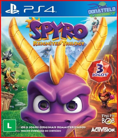 Spyro Reignited Trilogy PS4 - Spyro The Dragon