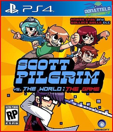 Scott Pilgrim vs The World The Game PS4