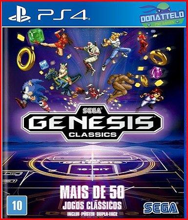 Sega Genesis Collection PS4