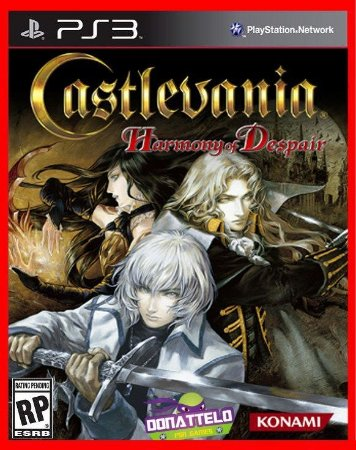 Castlevania Harmony of Despair ps3