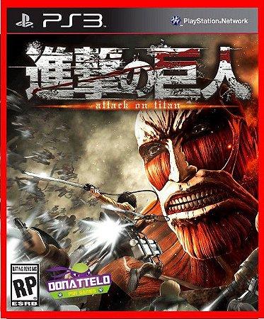 Attack on Titan Wings of Freedom ps3 - Shingeki no Kyojin (versão em inglês)