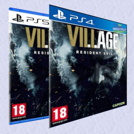 Resident Evil Village PS4/PS5 - RE8