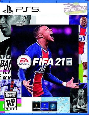 FIFA 21 PS5 - narração em português br