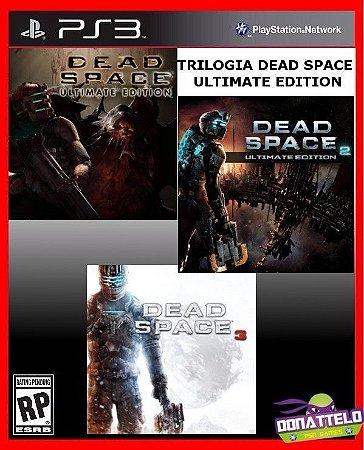 Trilogia Dead Space Ultimate Edition - Dead Space 1, 2 e 3 ps3