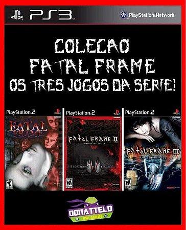 Coleção Fatal Frame ps3 - Fatal Frame 1 2 e 3