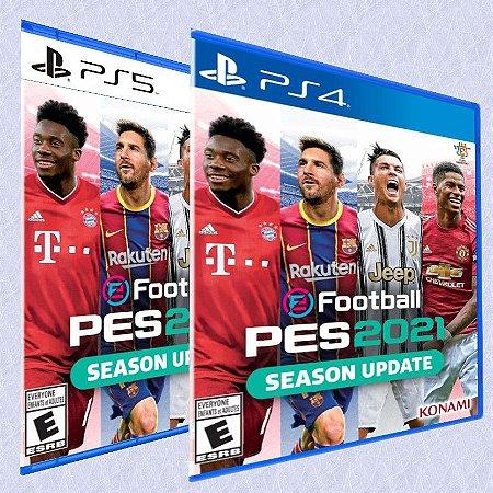 eFootball PES 2021 PS4 e PS5 - Season Update