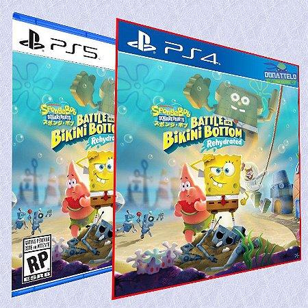 Bob Esponja Calça Quadrada PS4/PS5