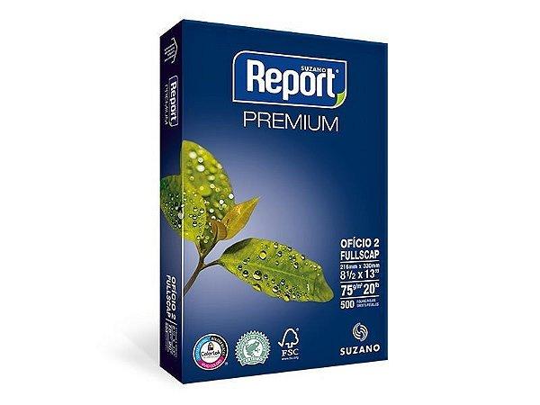 Suzano Report® Premium Ofício 2 - 75g - CAIXA com 10 Pacotes