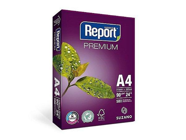 Suzano Report® Premium A4 - 90g - CAIXA com 5 Pacotes