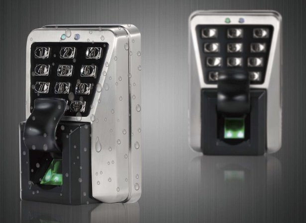Kit TD500 + fechadura eletroimã + fonte + Botão de saída
