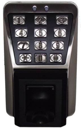 Controle de acesso biométrico anti vandalismo e água TD500