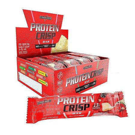 Protein Crisp Bar 12 Unidades 45g cada Integralmédica