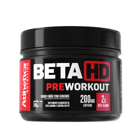 Beta HD Pre Workout 200g Atlhetica Nutrition