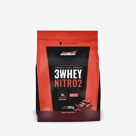 3 Whey Nitro 2 Rf 900g Chocolate