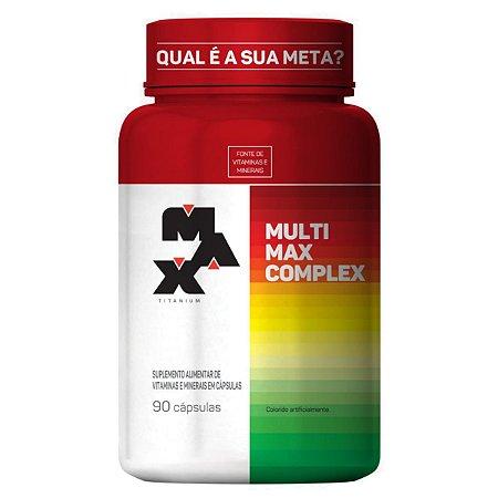 Multimax Complex Pt 90 Caps Max Titanium