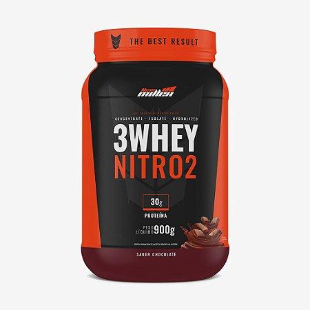 3 Whey Nitro 2 Pt 900g Chocolate