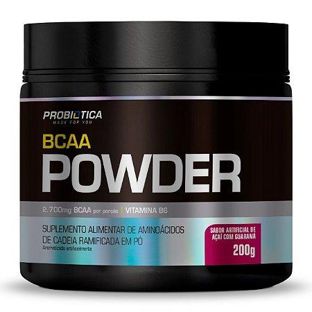 Bcaa Powder 200g Acai Com Guarana