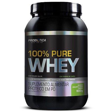100% Pure Whey 900g Pt Iogurte Com Limão