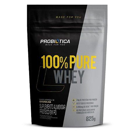 100% Pure Whey 825g Rf Baunilha