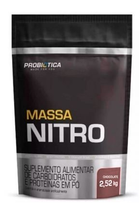 Massa Nitro 2,52kg Rf Chocolate