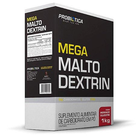 Mega Malto Dextrin 1kg Morango Silvestre