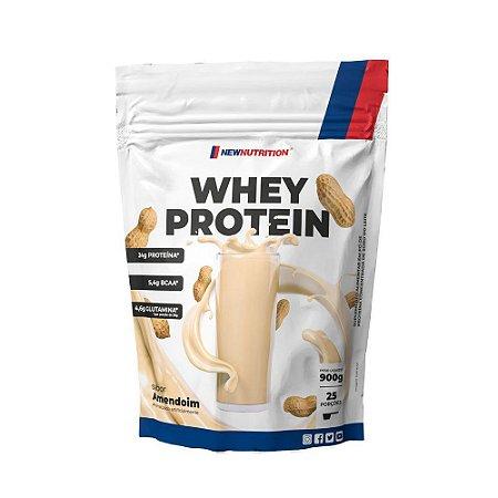 Whey Protein 900g Amendoim Newnutrition