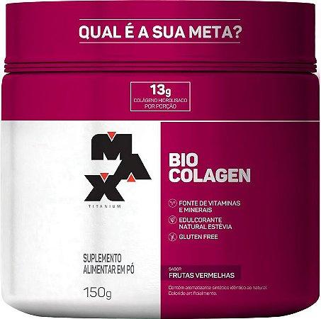 Bio Colagen Pt 150g Frutas Vermelhas Max Titanium