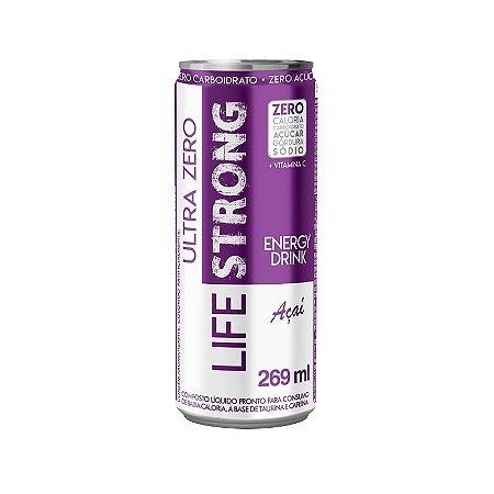Life Strong Energy Drink 269ml Acai