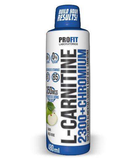 L-carnitine 2300 Chromium 480ml Maca Verde