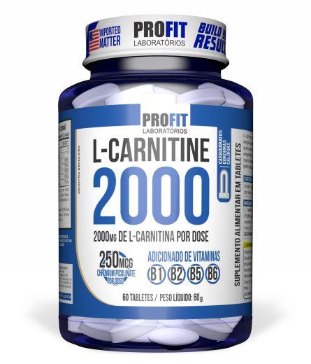 L-carnitine 2000 Cromo 60 Tabs
