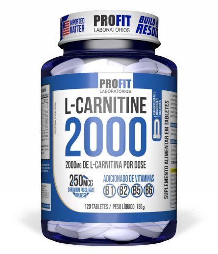 L-carnitine 2000 Cromo 120 Tabs