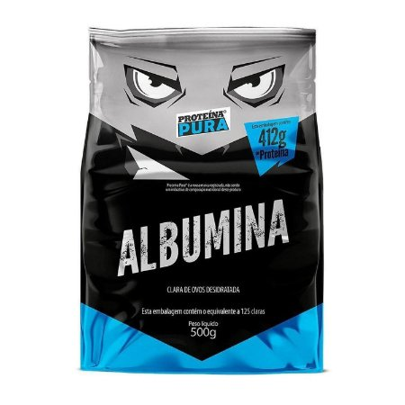 Albumina 500g Natural Proteina Pura