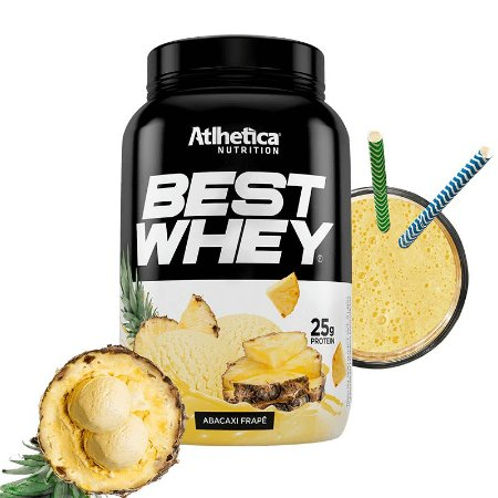 Best Whey 900g Pt Abacaxi
