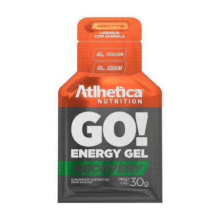 Go! Energy Gel 30g Laranja Com Acerola