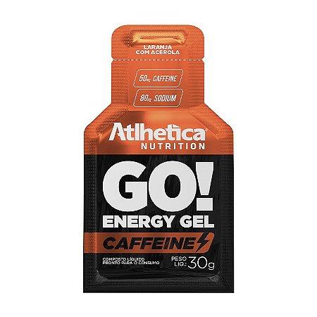 Go! Energy Gel Caffeine 30g Laranja Com Acerola