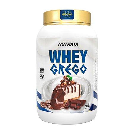 Whey Grego 900g Cheesecake De Chocolate Nutrata