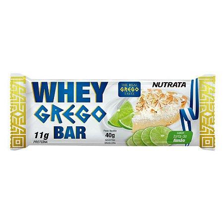Whey Grego Bar 40g Limao