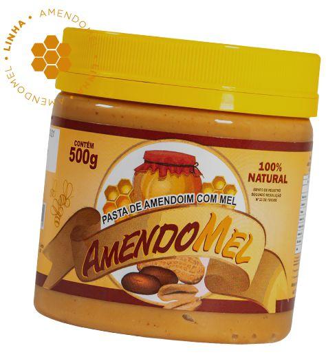 Pasta De Amendoim 500g Com Mel