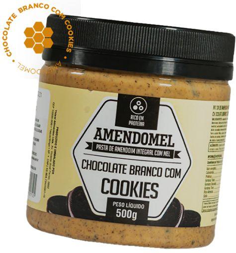 Pasta De Amendoim 500g Choc/bran C/ Cookies