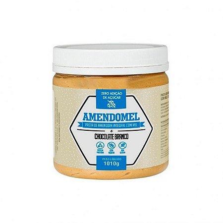 Pasta De Amendoim 1kg Chocolate Branco