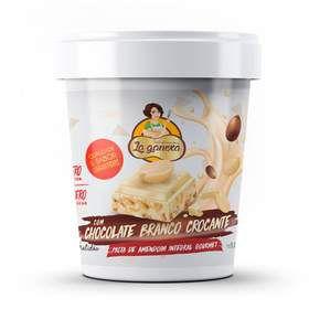 Pasta De Amendoim 450g Choc/branco Crocante