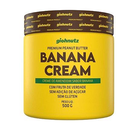 Pasta De Amendoim 500g Banana