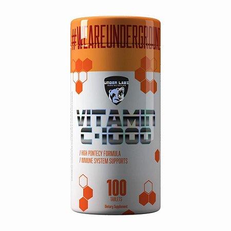 Vitamin C-1000 100 Tabs Under Labz