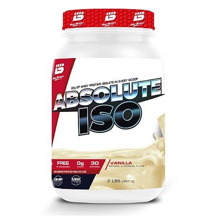 Absolute Iso Whey 900g Baunilha Bio Sport