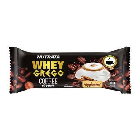 Whey Grego 40g Caffee Cappuccino